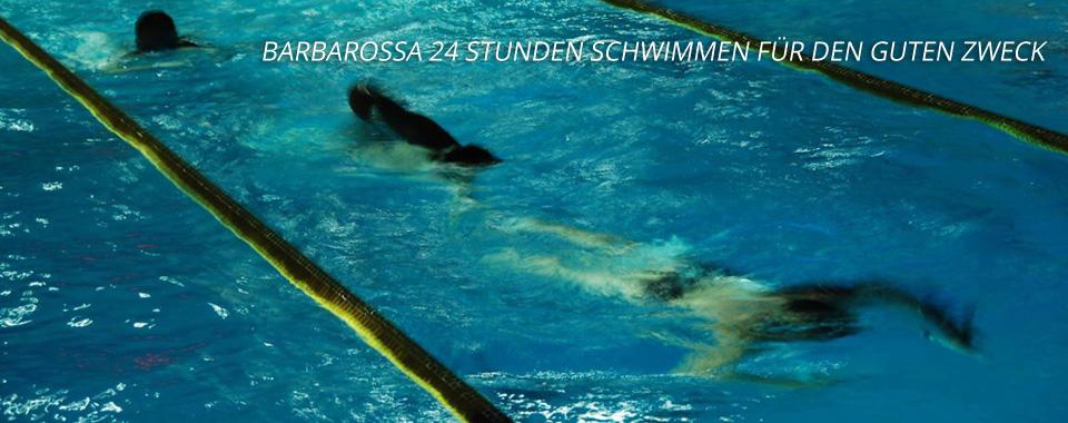 Barbarossa 24 Stunden Schwimmen für den guten Zweck